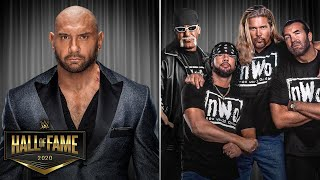 Batista & NWO Confirmed For WWE Hall Of Fame 2020