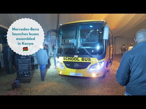 Mercedes-Benz Launches Buses Assembled In Kenya