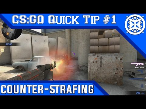 CS:GO Quick Tip #1 | Counter-Strafing [60fps]