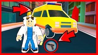 the true use of ambulance JAILBREAK - Roblox