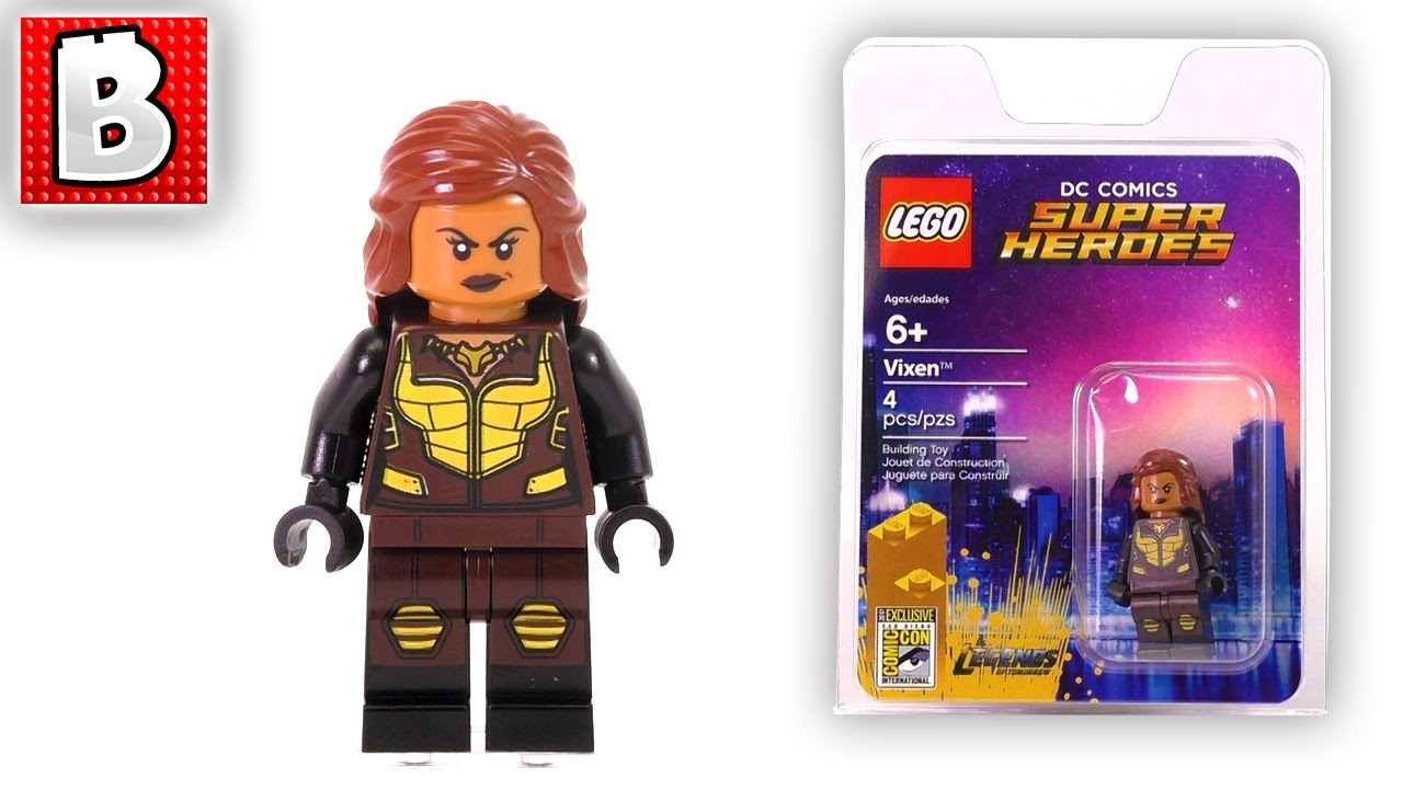 Exclusive LEGO Vixen Minifigure San Diego Comic Con 2017