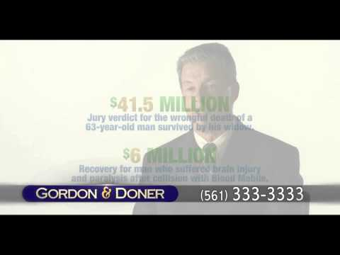 Car Accident Lawyer | Tequesta FL | Gordon & Doner