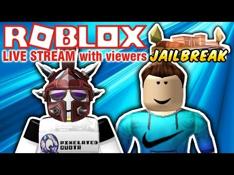 🔴 ROBLOX: PLAYING JAILBREAK, PRISON ROYALE, IMAGINATION EVENT AND MORE! 🔴