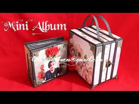 Mini Album with Suitcase
