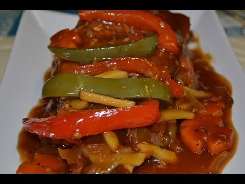 Fish escabeche by aling oday watch and free download for Fish escabeche recipe