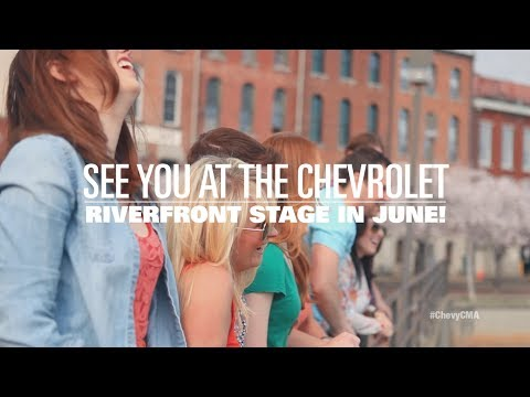 CMA Music Festival: Riverfront Stage Lineup  #ChevyCMA  Chevrolet
