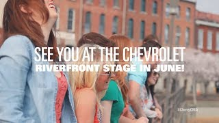 Cma Music Festival: Riverfront Stage Lineup -- #Chevycma | Chevrolet