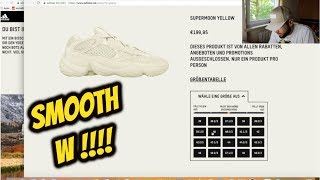 "*LIVE COP* ADIDAS YEEZY 500 ""SUPER MOON YELLOW"" IN 2 MINUTES"