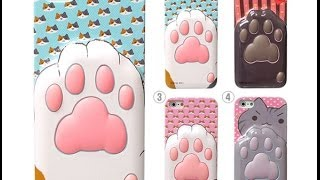 Unboxednow Niconico Nekomura Cat Footprints iPhone 5 Case (blue) best Unboxing and Review