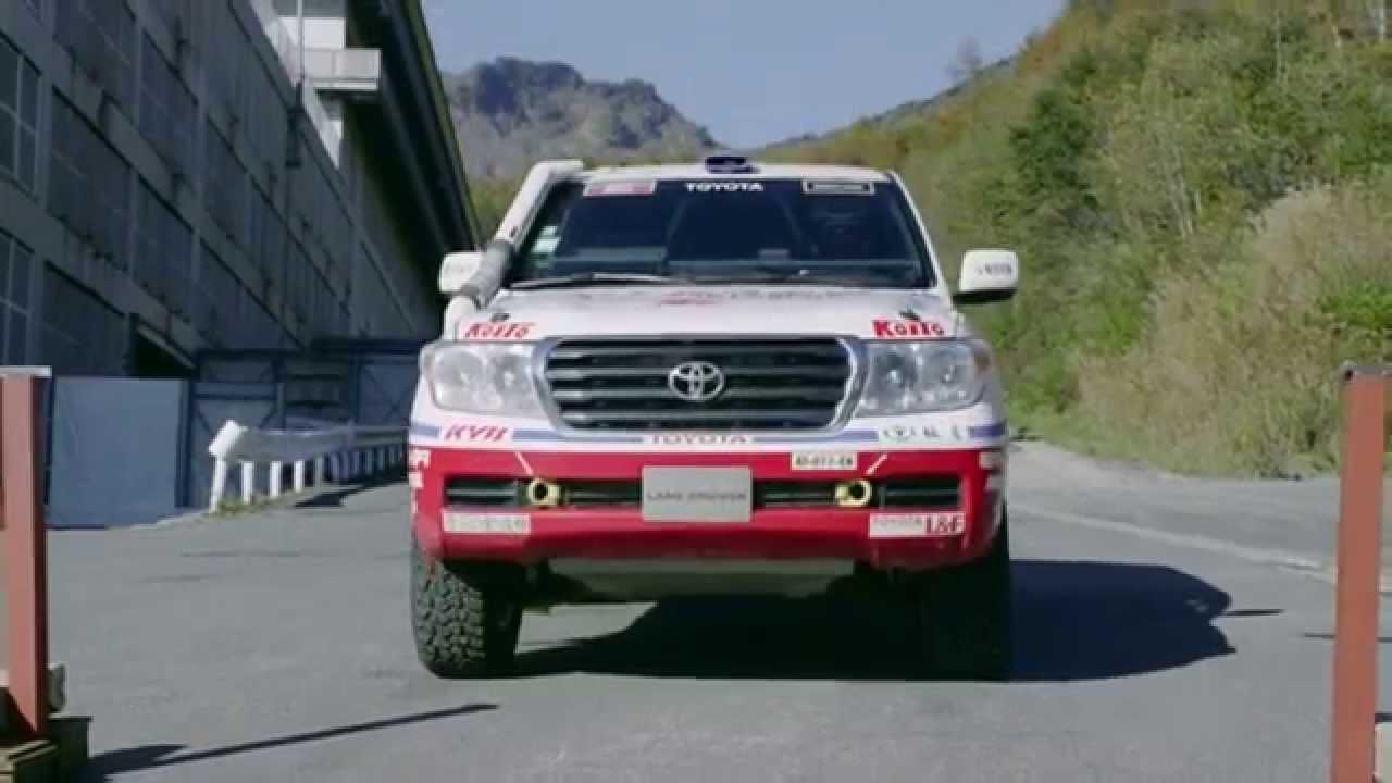 шуточная реклама toyota land cruiser 70 series