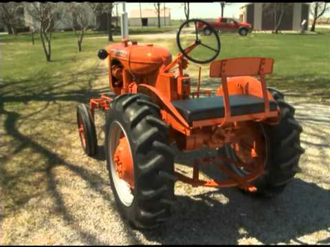 Tractor Tales:  1949 Allis Chalmers B