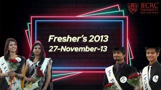 Freshers 2013 - Part 3 (Boys Ramp Walk) @ JU