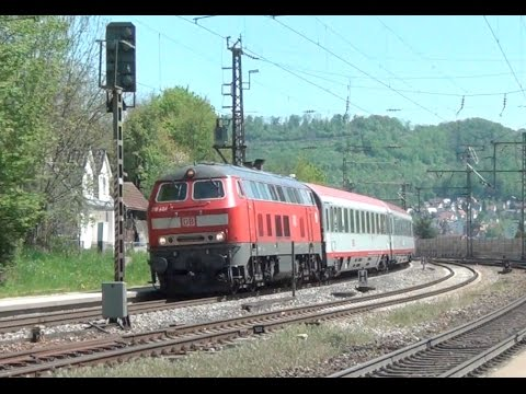DB between Ulm and Stuttgart   May 2016