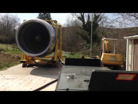 Rolls Royce RB211 Spring Crank Up Tristar L1011