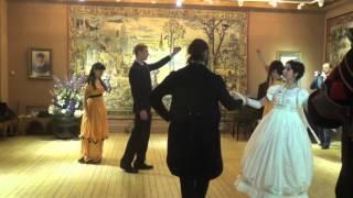 Наше выступление на балу во Дворце Алексея Михайловича