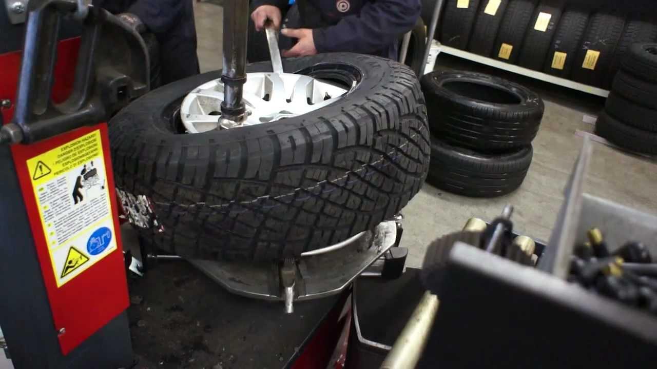 Big At Tyres Mounting At Freelander 2 18inch Rim General