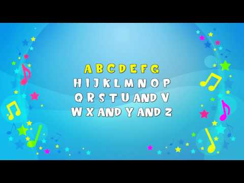 The Alphabet Song | Sing A Long | Learning Song | ABC | Nursery Rhyme | KiddieOK