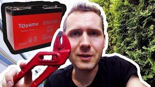 Montuje Akumulator w Przyczepie Kempingowej (vlog #35)