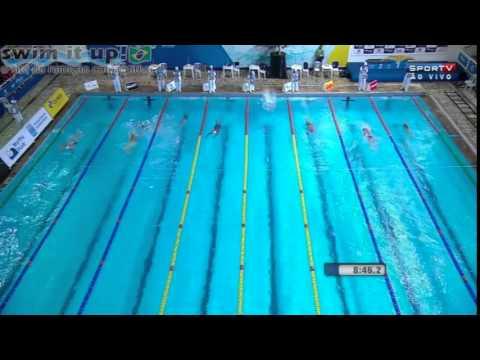 Finkel 2014: 1500m livre histórico para Brandonn Almeida