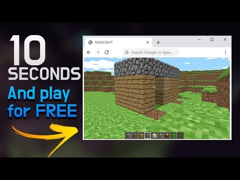 Play Minecraft FOR FREE Without Downloading!! (NEW SPECIAL Minecraft Version RELEASED)