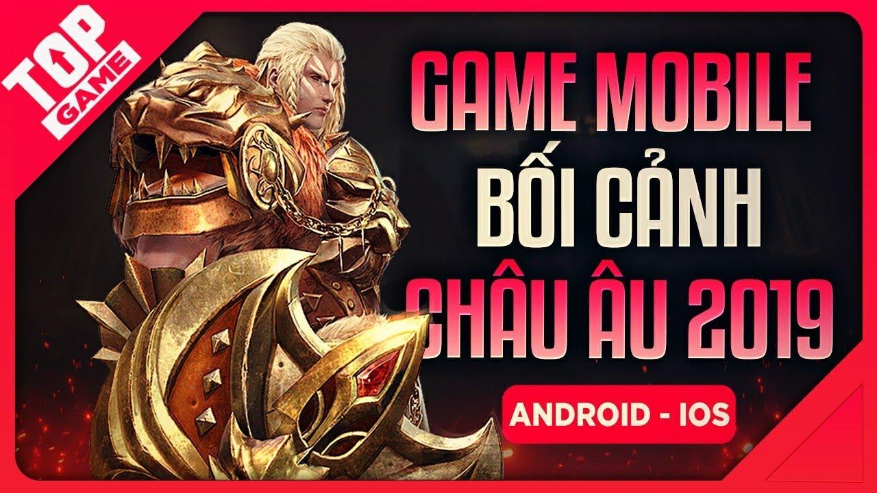 [Topgame] Thiên Sứ Mobile – Game Mobile Nhập Vai Bối Cảnh Châu Âu Của GTV