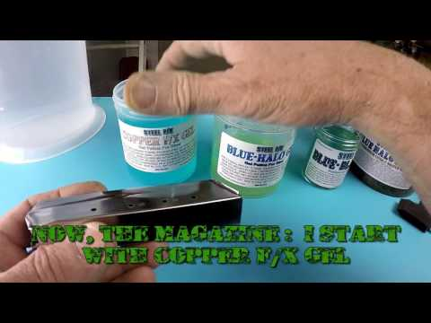 DO IT YOURSELF! COLOR CASE-HARDENING PATINAS & PROCEDURES FOR GUNS, GUN PARTS & KNIFE BLADES.