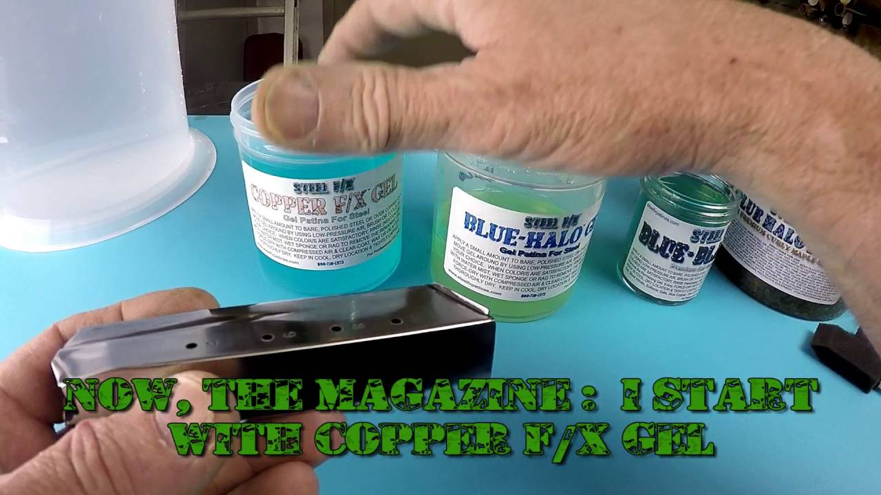 DO IT YOURSELF! COLOR CASE-HARDENING PATINAS & PROCEDURES FOR GUNS, GUN  PARTS & KNIFE BLADES