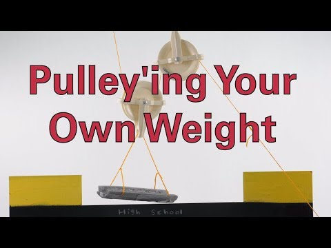 Pulley'ing Your Own Weight