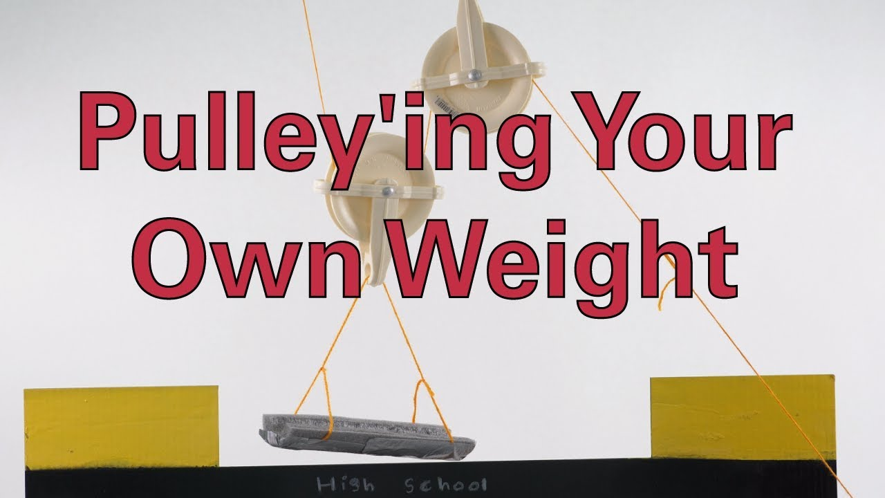 Pulley'ing Your Own Weight - Activity - TeachEngineering