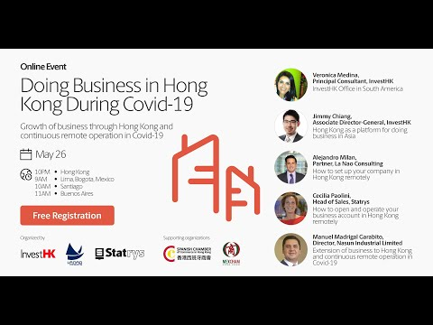 Webinar: Doing Business in Hong Kong During Covid-19