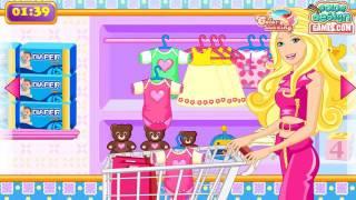 Барби и покупки в магазине ОНЛАЙН-Игра ДЛЯ ДЕВОЧЕК