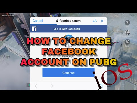 How to change facebook account on PUBG(IOS)