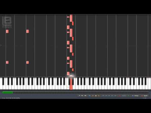 Gears Keep Turning - Gears of War 3 Piano Tutorial (Synthesia 100% - 60% Speed)