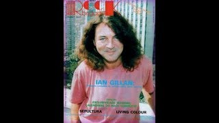 Ian Gillan interview from Argentina May 1992