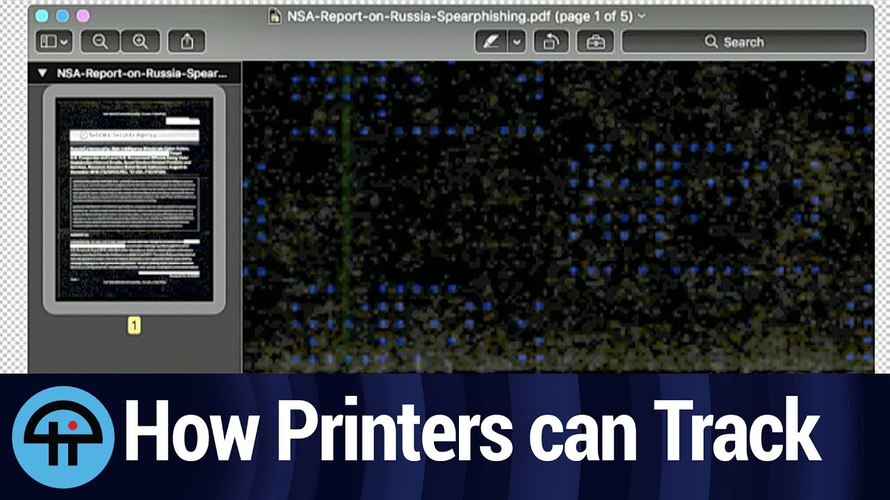 Your printer is spying on you