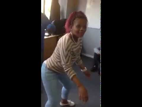 Cape Town Girl dancing