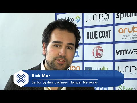 Juniper Networks - Vernieuwd security portfolio - interview Rick Mur