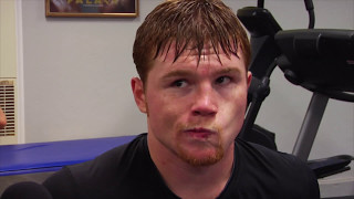 Canelo Alvarez interview after GGG sparring in 2011