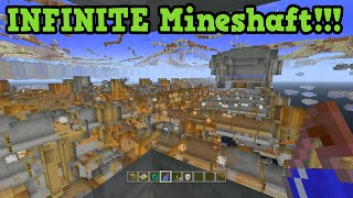 Minecraft Xbox 360 / PS3 Seed: INFINITE Mineshaft & Ravine