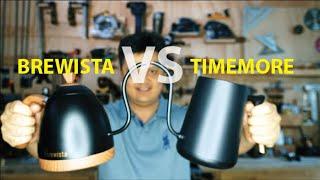 Cuộc chiến siêu kinh điển giữa 2 cái bình cổ ngỗng : Brewista VS Timemore
