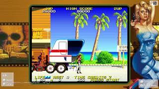 Namco Museum Rolling Thunder 2 gameplay