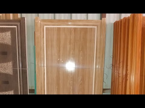 Pvc doors for bath room with  frame
