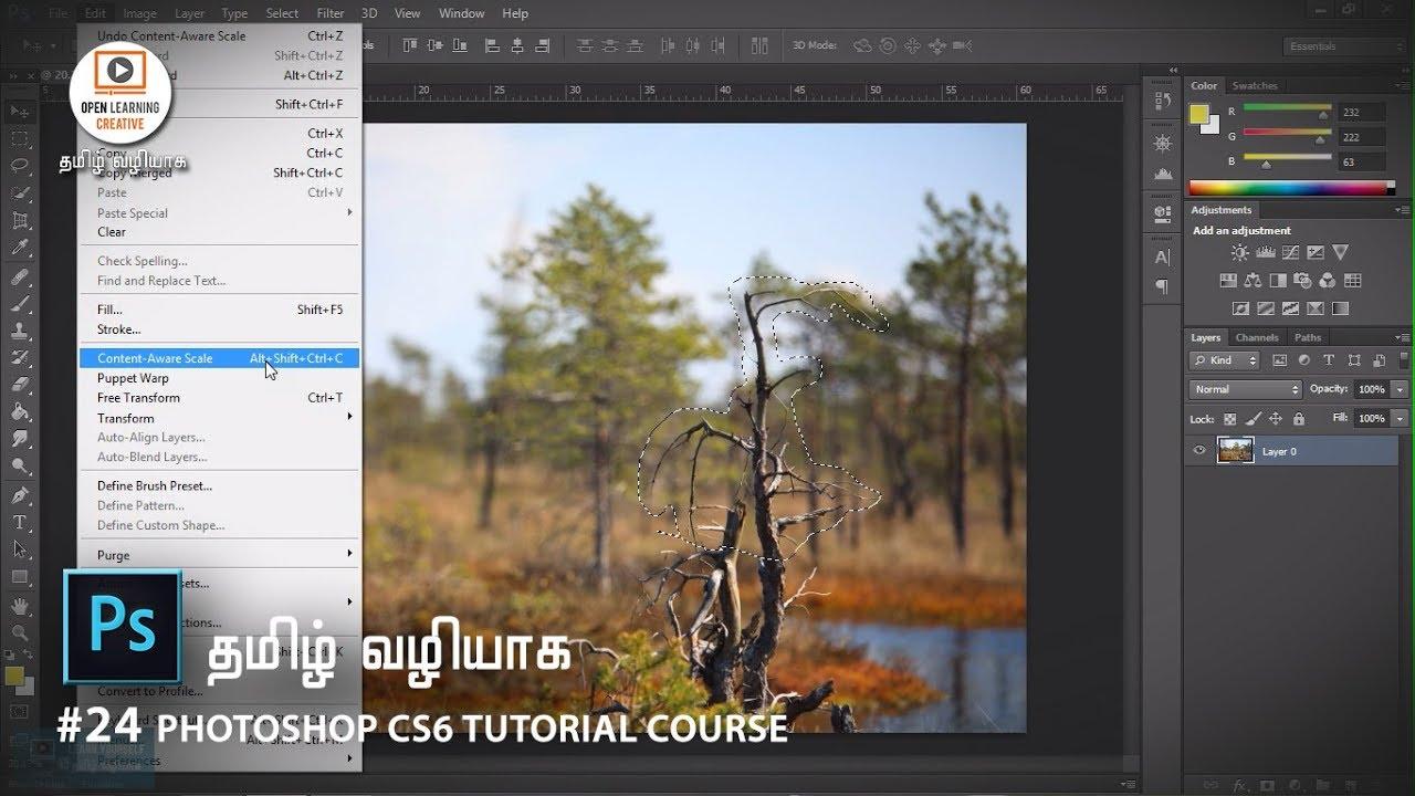 adobe photoshop cs6 tutorial pdf in tamil