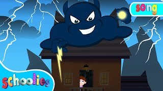 Thunder Lightning | Nursery Rhymes For Toddler Fun Videos For Children | Schoolies
