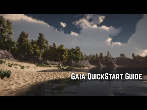 Gaia 1.9 Quick Start Guide - Procedural Terrain Generation For Unity 3D