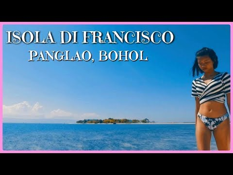 ISLAND HOPPING WITH MY MGA KAPATID | ISOLA DE FRANCISCO, PANGLAO, BOHOL - TRAVEL VLOG