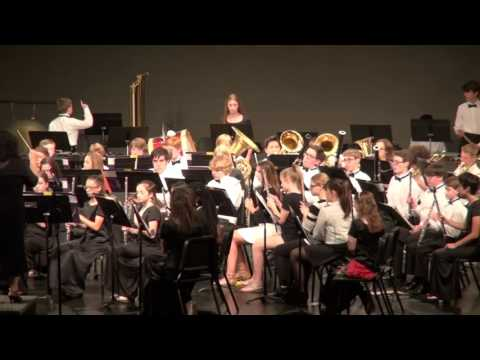 Washington Middle School Combined Bands May 17, 2017 Part 2