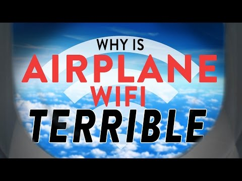 Airplane WiFi: Why it's Terrible