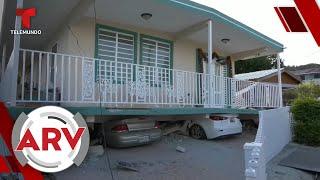Terremoto de 5.8 grados sacude la Isla de Puerto Rico | Al Rojo Vivo | Telemundo