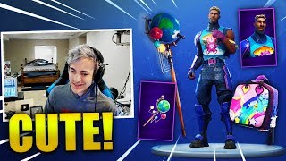 NINJA *NEW* BRITE GUNNER SKIN + GLOBAL AXE - Fortnite Best & Funny Moments (Fortnite Battle Royale)